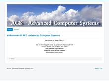 Acs-Advanced Computer Systems